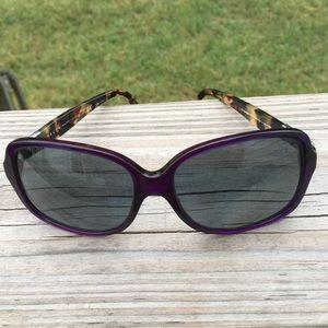 Ralph Lauren Purple and Tortoise sunglass Frames